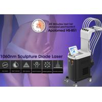 Buy cheap Apolomed 1060nm sculpture diode laser for stubborn fat treatment from wholesalers