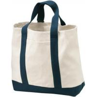 Buy cheap Stylish Canvas Tote Baby Diaper Bag Eco Friendly For Supermarket Shopping product