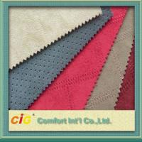 Buy cheap Furniture Faux Suede Fabric , cushion cover Polyester Suede Fabric product