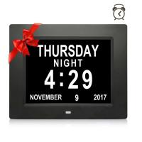 China 8Inch IPS 1024x768 Digita Calendar Day Clock LCD digital photo frame on sale