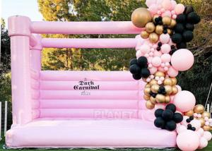 Buy cheap New Design Pink Castle Inflatable Jumping Commercial Bounce House /Bouncy Castle For Kids product