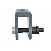 Buy cheap Q235 508mm Shift Spring Hanger Supports Connecting U-Shaped Ears product