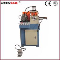 Buy cheap Single End Chamfering Machine For Metal Pipe / Tube / Solid Bar Chamfer and End Facing product
