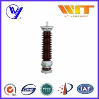 Buy cheap Glazed Silicone MOA Lightning Surge Arresters for Substation Protection 35KV product