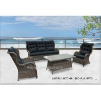 Buy cheap All Weather Popular Patio Seating Sets , Garden Outdoor Wicker Patio Furniture product