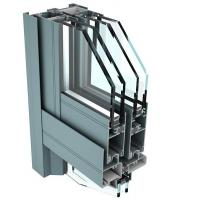 China 6061 T6 Aluminum Curtain Wall Profile for Industrial Buildings on sale