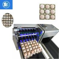 China 1600x410x980mm Size Egg Jet Printer Machine With Low Maintenance Costs on sale