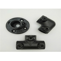 Buy cheap ISO9001 Flange Key Clamp Cast Iron Pipe Fittings Black 131B product