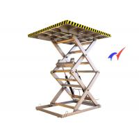 Buy cheap Multifurcation Hydraulic Fixed Scissor Lift Multiple Choice For Industry Production Line from wholesalers