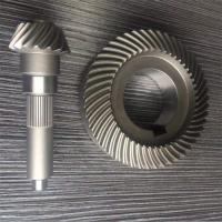 Buy cheap Brass Plastic Iron Micro Worm Gear Hardened Tooth Surface For Electric Cars product