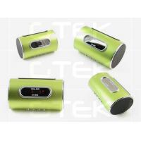 China Digital Iphone 5 Cell Phone Bluetooth Speakers , Music Player Stereo Speaker on sale