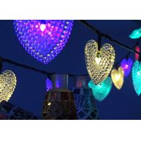 Buy cheap Small Heart Solar Powered String Garden Lights Indoor / Outdoor Decoration product