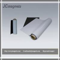 Buy cheap Flexible Magnetic Sheet Rubberized Magnets with Lamination product