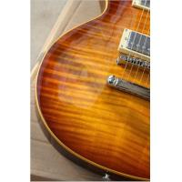 Quality One Piece Neck Tiger Flame Maple Top Les Standard Brown 1959 R9 LP Electric for sale