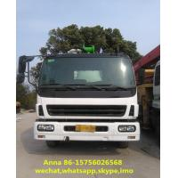 Buy cheap 6 X 4 Driving Type Used Concrete Pump Truck Mounted Concrete Boom Pump product