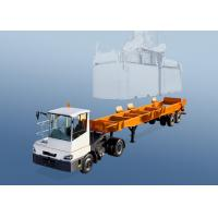 Buy cheap 2 Axles 40 Foot Container Chassis Trailer For Shipping Container In Terminal Port product