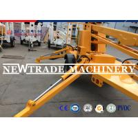 Buy cheap Skyscraping Tower 6-17m Trailer Mounted BoomLift / Tow Behind Towable Boom Lift from wholesalers