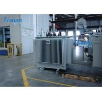 Buy cheap S11 Power Oil Immersed Power Transformer 3 Phase Core Type Transformer product