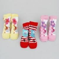 Quality Personalized Yellow / Red / Pink Kids Novelty Socks Shoes For Infants / Toddlers for sale