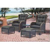 Buy cheap Comfortable Outdoor Rattan Chairs Patio Furniture Sets For Two Person product