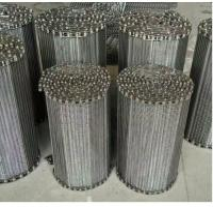 China 304 316 316l Stainless Steel Conveyor Belt , Custom Flat Wire Conveyor Belt on sale