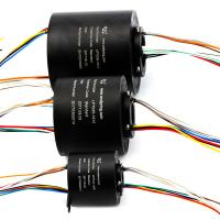 Buy cheap Flexible Bore Size Compact Slip Ring Transmitted Signal / Circuit Number product