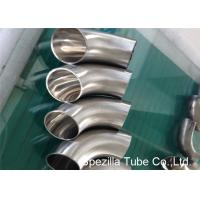 Buy cheap Hygienic Valves And Fittings 1/2'' - 12'' , TP304 316L Stainless Steel Sanitary Weld Fittings product
