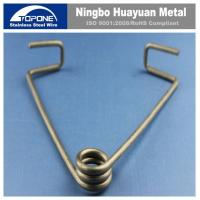 Buy cheap Customized Stainless Steel Wire Forming Stainless Steel Spring Clips For JIS from wholesalers