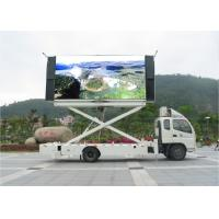 Buy cheap Big Size Outdoor P6 LED Mobile Billboard 100 Levels Brightness Control product