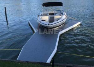 Buy cheap 6m Long Drop Stitch Floating Y Shape Inflatable Y Jet Ski Dock Pontoons Platform For Boat And Yacht Parking product