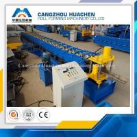 Buy cheap High Performance Door Frame Roll Forming Machine PLC Control With Hydraulic Cutting product