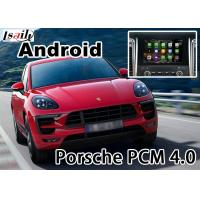Buy cheap Porsche Macan Cayenne PCM4.0 gps navigation devices with rear view WiFi BT video android app product