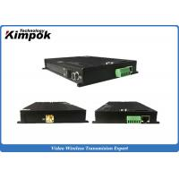 Buy cheap UGV Fast-moving TDD Transceiver IP Data Radio Wireless IP Transmitter & Receiver product