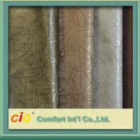 Buy cheap Multi Color High Abrasion PVC Artificial Leather Fabric  0.5 - 2mm Fake Leather Material product
