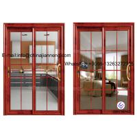Buy cheap Aluminum Glass Sliding Door With 60 Series Aluminum Frame And Frosted product