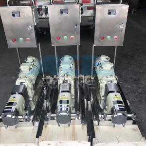 Buy cheap Sanitary Stainless Steel Heat Retaining Rotary Horizontal LobePump Rotary Lobe Pump for Washing Liquid product
