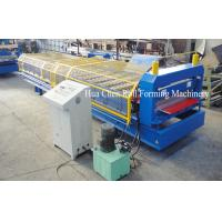 Buy cheap Multi function Steel wall panel roll forming machine with special cutter product