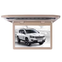 Buy cheap 1080P Lvds Led Car Roof Mount Monitor Laser Carving Touch Button With SD FM USB HD product