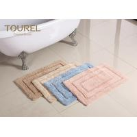 Buy cheap Thick And Big Plush Bathroom Rugs / Hotel Washable Bath Mat product