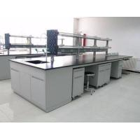 Buy cheap All Steel Lab Casework / Lab Workbench Furniture With Reagent Shelf product