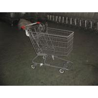 Buy cheap Color Powder Coating canadian style Supermarket Shopping Carts product