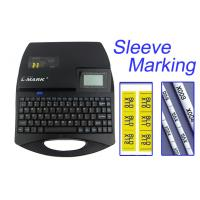 Buy cheap 5 Lines Cable Label Number Printer Automatic DC 12V 2A  300DPI Ferrule Sleeves Printing product