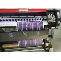 China 1.8m Eco Solvent Printing Machine With XP600 head For 4 Colors Or 6 Colors At 2160 Dpi on sale