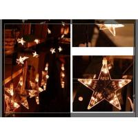 Buy cheap Home LED Curtain Christmas Lights 0.7m Strings Stars Shaped Decoration product