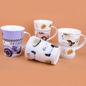 China Ceramic decal mug in new bone china on sale
