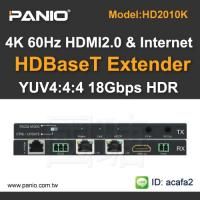 Buy cheap HDMI 2.0 Extender Splitter and Ethernet Extender support 4K 60HZ product