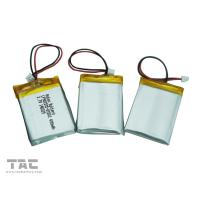 High Energy Density Rechargeable LP052030 3.7V 200mAh Polymer Lithium Ion Batteries