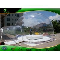 Buy cheap Environmental PVC Inflatable Bubble Tent , Clear Inflatable Party Tent product