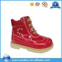 Buy cheap Girls long winter warm boots for kids solid orthopedic boots shoes with arch support outsole product