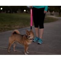 Buy cheap Comfort Grip Handle LED Pet Leash High Visibility Industrial Strength Materials product
